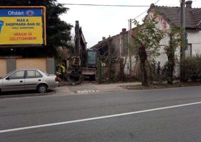 épület bontás, épületbontás, bontási munkák Budapest, vészhelyzeti bontás