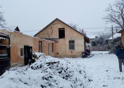 épület bontás, épületbontás, családi ház bontása, házbontás
