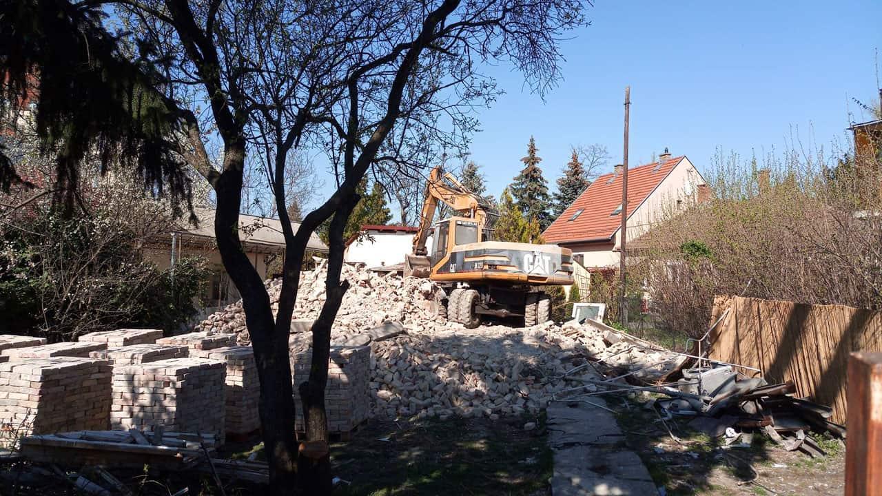 épületbontás, épület bontás