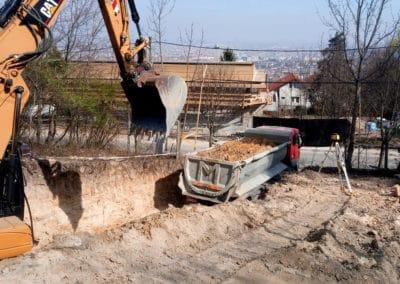 gépi földmunka Budapest