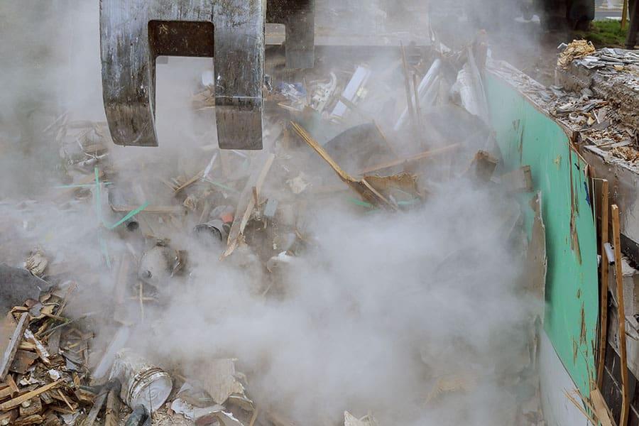 épületbontás Budapest, családi ház bontása, melléképület bontása, bontási munkák