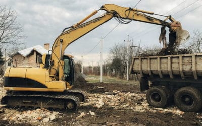 Támogatás gépi földmunkához
