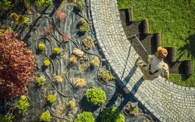 Gépi földmunka a szép kertért