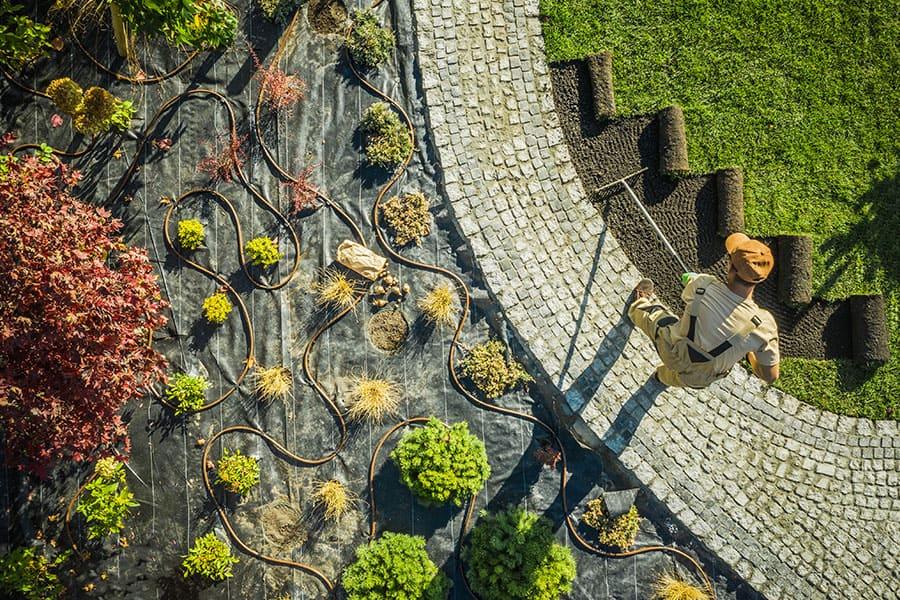 Tereprendezés, földmunka Budapest, talajrendezés