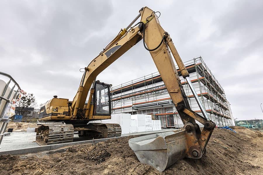 gépi földmunka, Tereprendezés, árokásás, alapásás, medencealap kiemelés, épületbontás Budapest